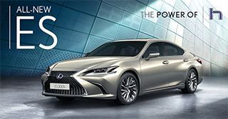 : The all-new Lexus ES 2019 | The most exciting ever.
