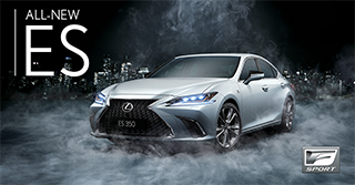 : The all-new Lexus ES 2019 F Sport