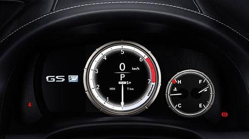 GS 2016 F SPORT meters/multi-information display | Lexus ...