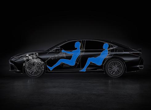 Lexus Nx Hybrid >> ES 2018 Performance GA-K (Global Architecture-K) platform ...