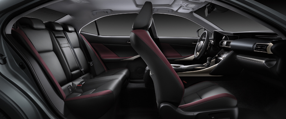 IS 2017 - Color Gallery Interior | Lexus Bahrain