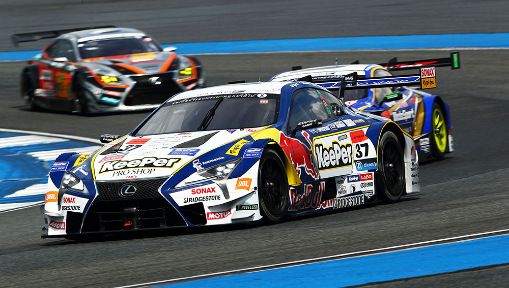 Lexus LC 500 takes first two podium
